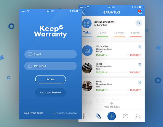 KeepWarranty App