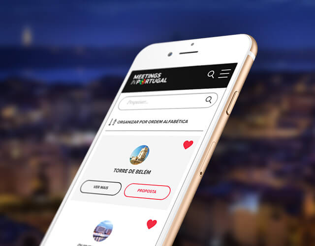 meetings portugal - mobile app